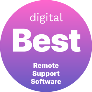 Digital.com best remote support software 2021 badge