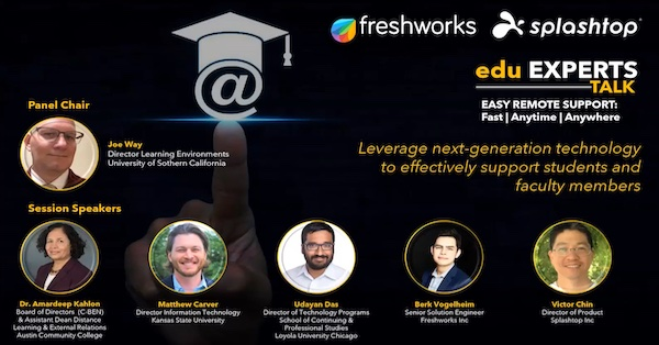 Charla de los expertos de Freshworks EDU