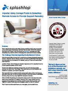 Imperial Valley College case study