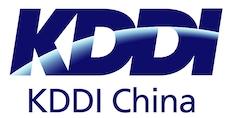 KDDI 中国 Logo