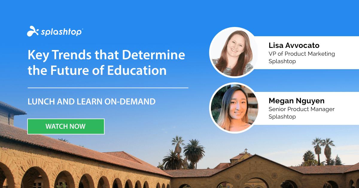 Webinar: Principais tendências que determinam o futuro da educação