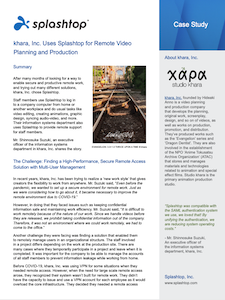 khara, Inc. utilizza Splashtop | Case Study