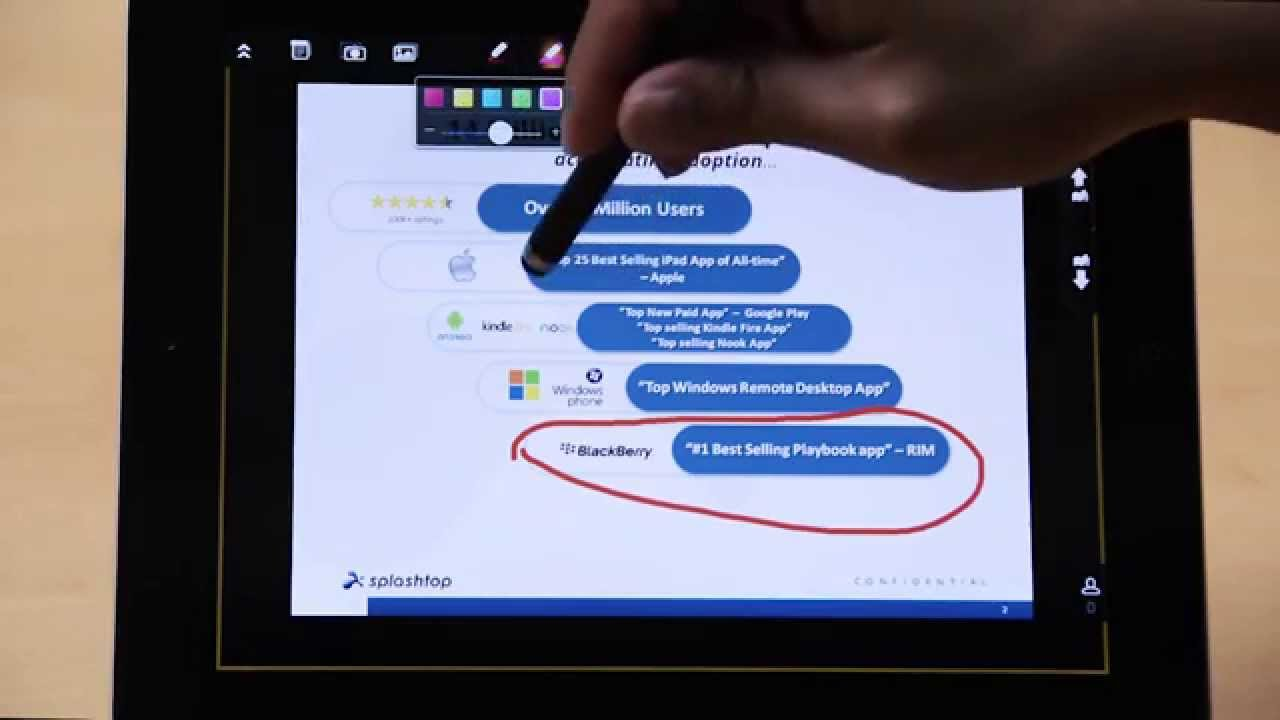 Splashtop Classroom 的快照和图库功能 - 教程