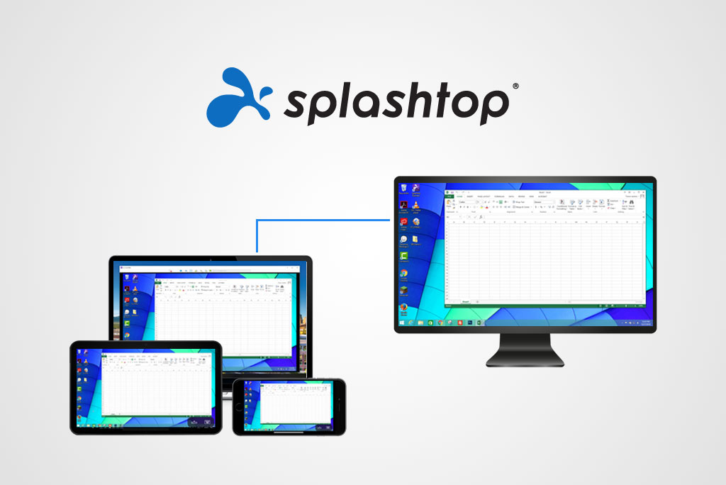 Remote Access Computer with Splashtop