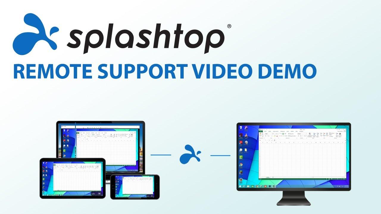 Splashtop Remote Support演示