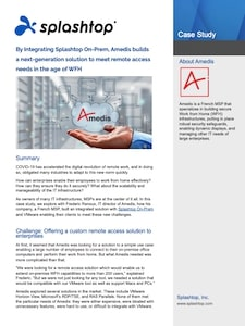 Amedis MSP案例研究