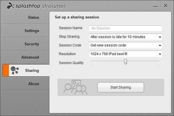 Splashtop Classroom streamer