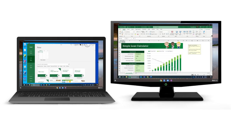 支持多对多显示器查看的 Chromebook 远程访问