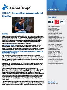 OSZ IMT Case Study