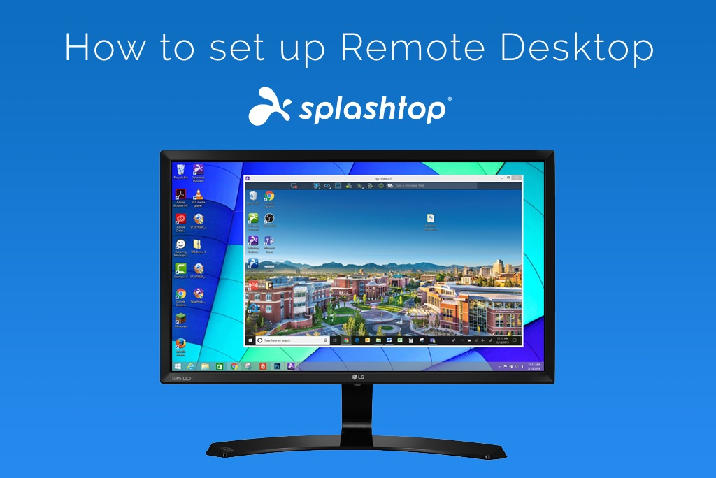 How to set up remote desktop