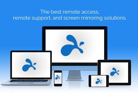 Splashtop - Des solutions optimisés pour la meilleure expérience de productivité, d'assistance et de collaboration entre écrans