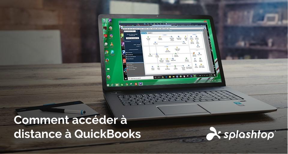 Comment accéder à distance à QuickBooks