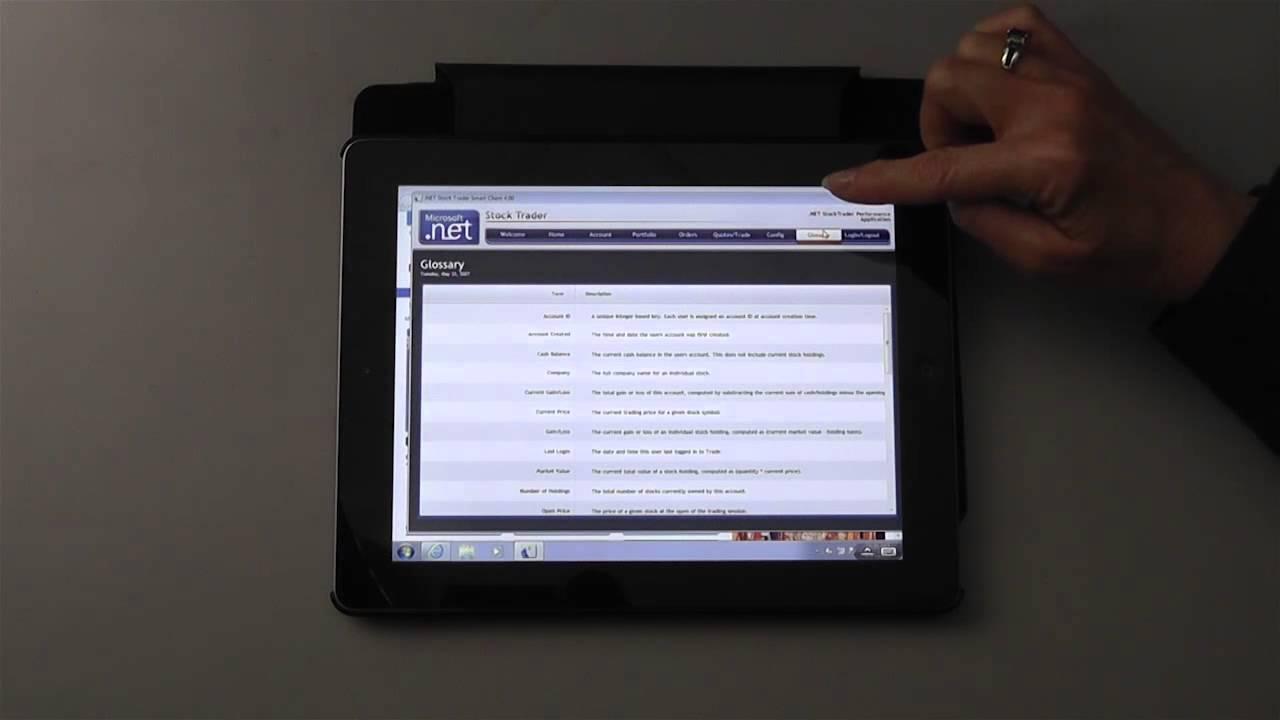 Splashtop Enterprise - iPad 上的 .Net