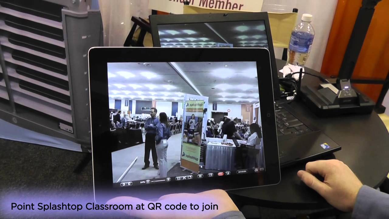Splashtop Classroom 和 HoverCam 可与 School Tech Supply Common Core Ready Bundle 一起使用