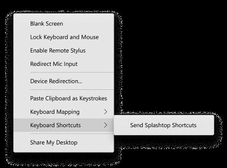 Option to Pass Keyboard Shortcuts