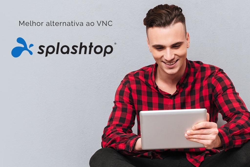 Melhor acesso remoto VNC Alternativo Splashtop