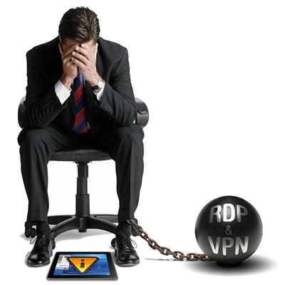 在VPN上使用RDP给人带来的头疼