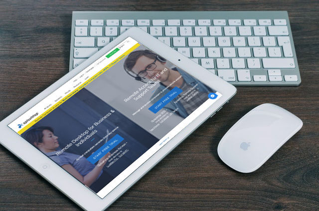 Remote Desktop from iPad with Splashtop