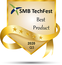 SMB TechFest – Best Product 2020 Q3 Badge