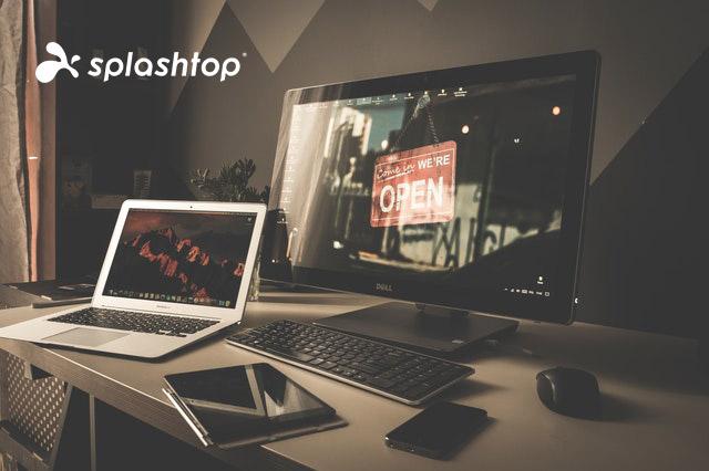 splashtop desktop remoto per l'accesso remoto al computer