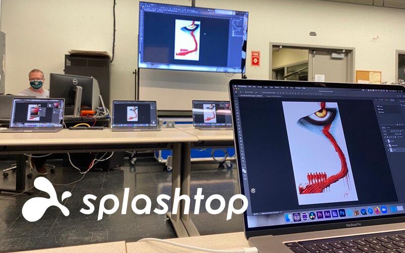 Insegnare a distanza con Splashtop