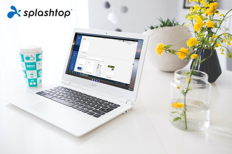 Utiliser Word sur un Chromebook avec Splashtop