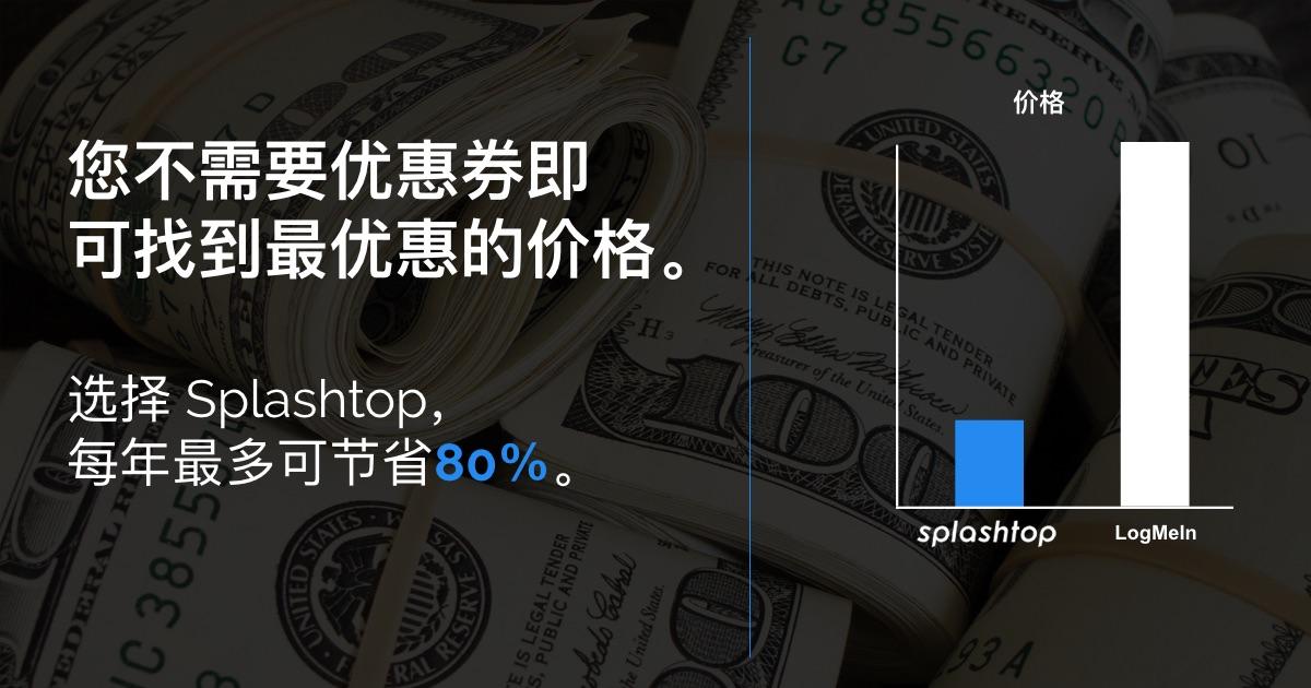 Splashtop不需要优惠券