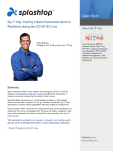 My IT Indy - COVID19 Case Study